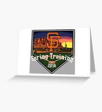 San Francisco Giants Spring Training 2016 Greeting Card