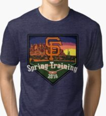 San Francisco Giants Spring Training 2016 Tri-blend T-Shirt