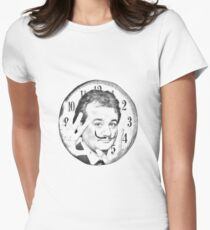 groundhog day  x surrealism Womens Fitted T-Shirt