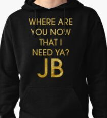 Where Are Ü Now - Justin Bieber Pullover Hoodie