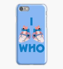 i hearts who iPhone Case/Skin