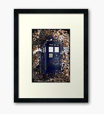 Police Box Tardis ~ Dr. Who Framed Print