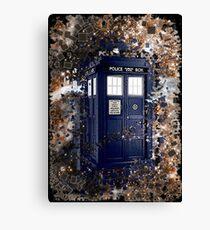 Police Box Tardis ~ Dr. Who Canvas Print