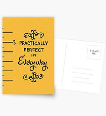 practically perfect Postcards