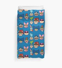 The Bowser Bunch Duvet Cover