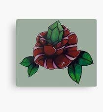 Rupee Rose Canvas Print