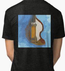 Awesome Bass, Hofner, Beatles instrument Tri-blend T-Shirt