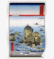 Utagawa Hiroshige Futamigaura in Ise Province Poster