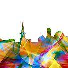 Alexandria Virginia Skyline - Dynamik von Marlene Watson