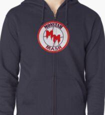 Monstah Mash goes Red Sox Zipped Hoodie