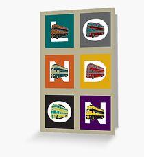 London Double Decker Greeting Card