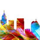 Atlanta, Georgia Skyline - Dynamik von Marlene Watson