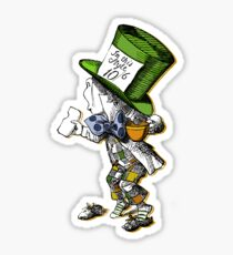 The Mad Hatter Sticker