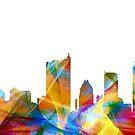 Austin, Texas Skyline - Dynamik von Marlene Watson