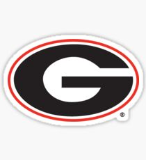 University of Georgia  Sticker
