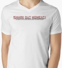Smark Out Moment Logo (Red) Men's V-Neck T-Shirt
