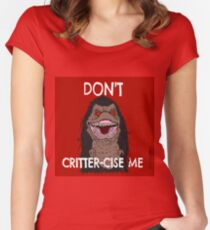 CritterCise Women's Fitted Scoop T-Shirt