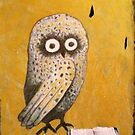 Wise Little Owl by Redlady