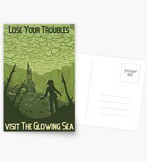 Lose Your Troubles Postcards