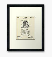 Folding Photographic Camera-1904 Framed Print
