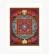 Mandala kokoro Art Print