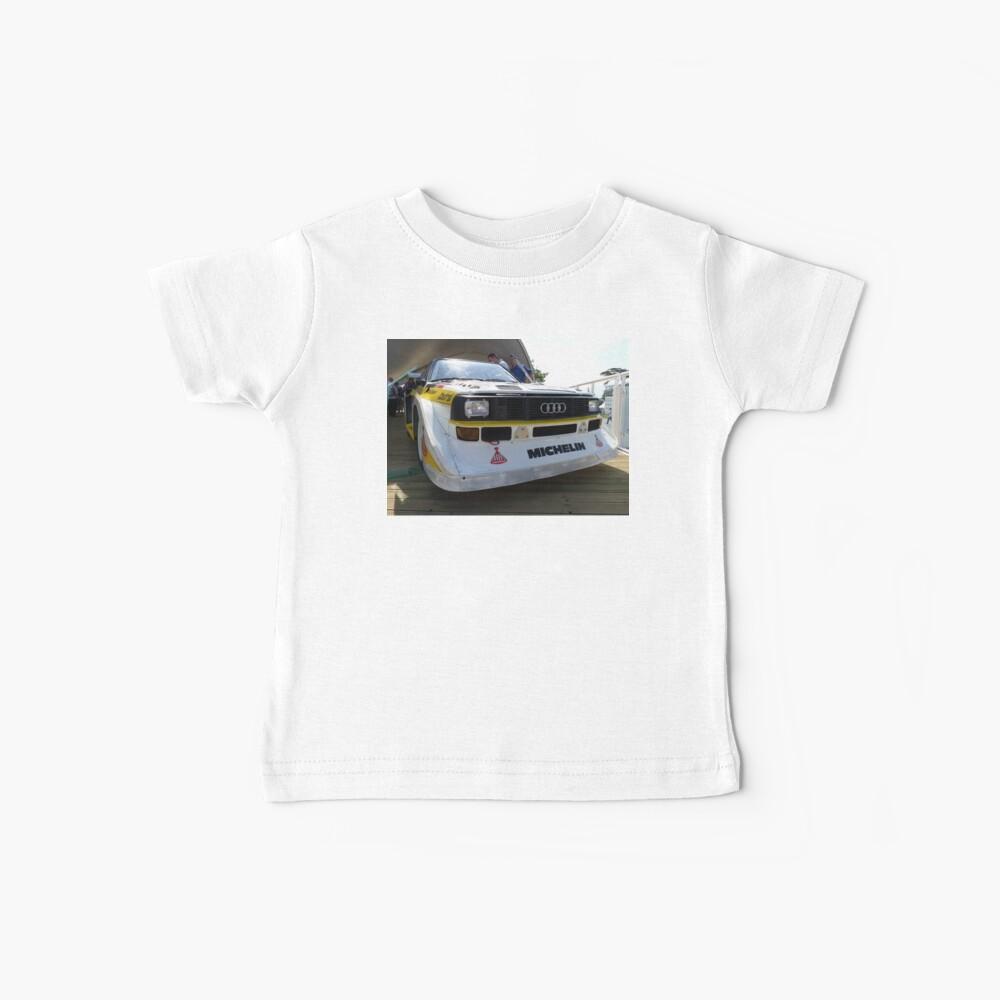 Audi Quattro Gruppe B WRC Baby T-Shirt