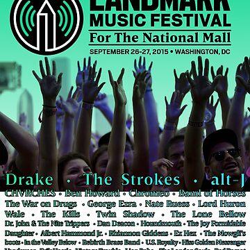 Landmark Music Festival Line up 2015 by jancux