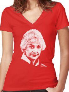 Dorothy Women's Fitted V-Neck T-Shirt