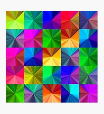 Crystal seamless pattern Photographic Print