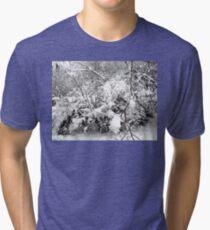 SNOW SCENE 4 Tri-blend T-Shirt