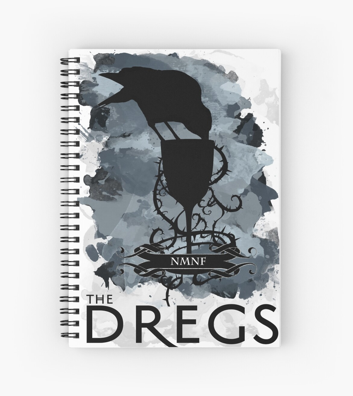 Quot Six Of Crows The Dregs Quot Spiral Notebooks By