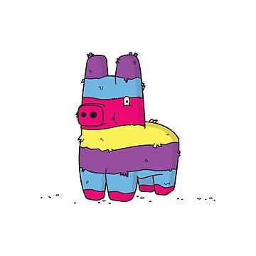 Pinata Pony by tastygoldfish