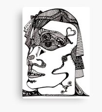 Head by Alice Samways Canvas Print