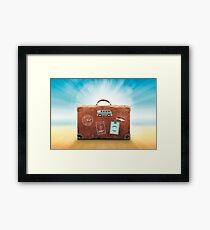 luggage Framed Print