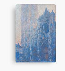 1894-Claude Monet-Rouen Cathedral Façade and Tour d'Albane (Morning Effect)-74 x 106 Canvas Print