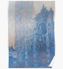 1894-Claude Monet-Rouen Cathedral Façade and Tour d'Albane (Morning Effect)-74 x 106 Poster