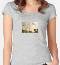 A Goldfinch Gathering Women's Fitted Scoop T-Shirt