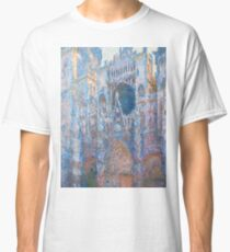 1894-Claude Monet-Rouen Cathedral, West Façade-65 x 100 Classic T-Shirt