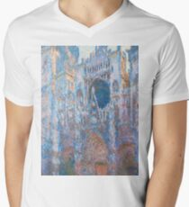 1894-Claude Monet-Rouen Cathedral, West Façade-65 x 100 T-Shirt