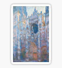 1894-Claude Monet-Rouen Cathedral, West Façade-65 x 100 Sticker