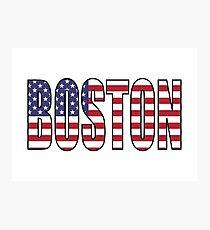 Boston. Photographic Print