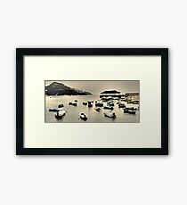 one fine afternoon in Stanley... Framed Print