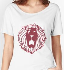 The Seven Deadly Sins - The Lion Sin of Pride (Red) Women's Relaxed Fit T-Shirt
