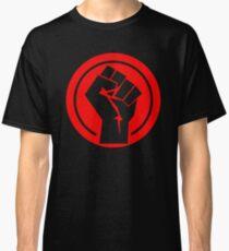 Red Socialist Fist Classic T-Shirt