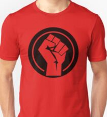 Black Socialist Fist T-Shirt