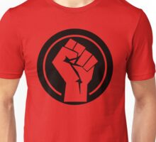 Black Socialist Fist Unisex T-Shirt