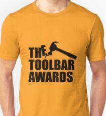 Toolbar Awards Gold Tee/Yellow Poster Unisex T-Shirt