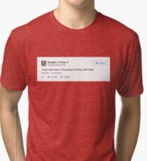 Donald Trump Tweet Tri-blend T-Shirt