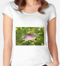 Purple Haze Passiflora Women's Fitted Scoop T-Shirt