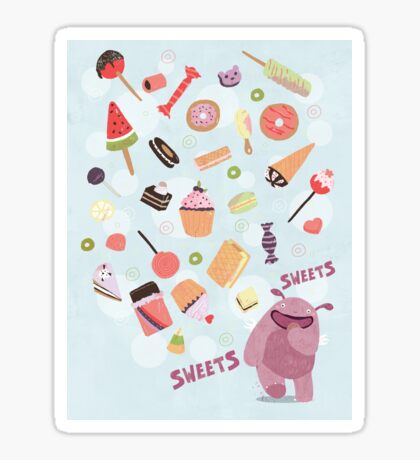 Sweets for Monsters Sticker